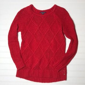 American Eagle Outfitters Red Sweater X Small